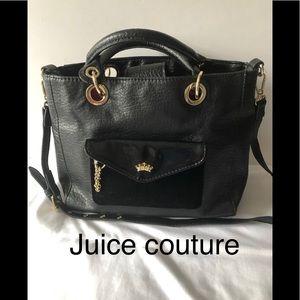 Juice couture purse black